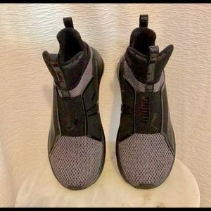 6d34ed1ecda Puma Shoes - Fierce varsity knit women s sneakers